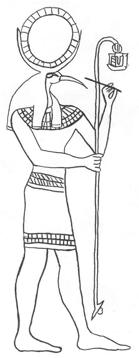 free coloring pages egyptian gods free gods of ancient egypt coloring pages