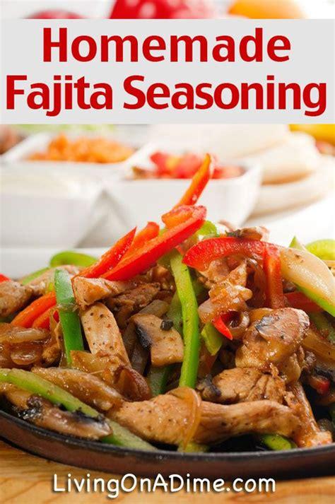 best chicken fajita seasoning best 25 fajita seasoning mix ideas on fajita