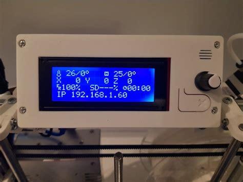 reprap discount  lcd display cover  hypercube