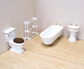 dollhouse bathroom furniture doug bathroom furniture set dollhouse