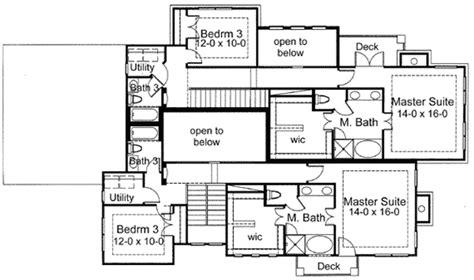 european duplex 16841wg 2nd floor master suite butler