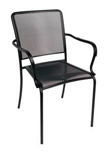 patio chair furniture shop mfg corp earth brown resin stackable