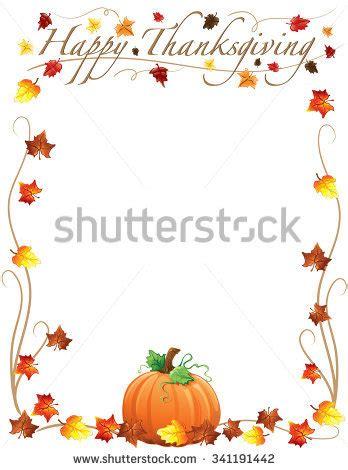 20+ thanksgiving border vectors | download free vector art