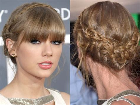 taylor swift prom hairstyles tutorial step by step tutorial for taylor swift s braided updo
