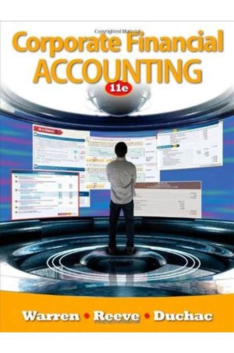 Corporate Financial Accounting corporate financial accounting 11th edition solutions