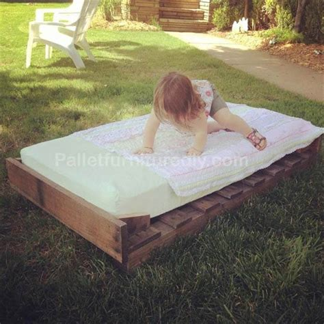 pallet toddler bed how to make a wood pallet dog bed easy crafts and