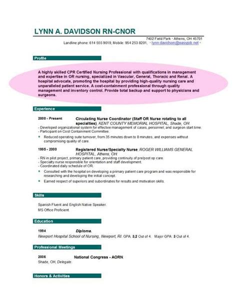 Free Resume Objectives by Free Resume Objective Sles Sle Resumes