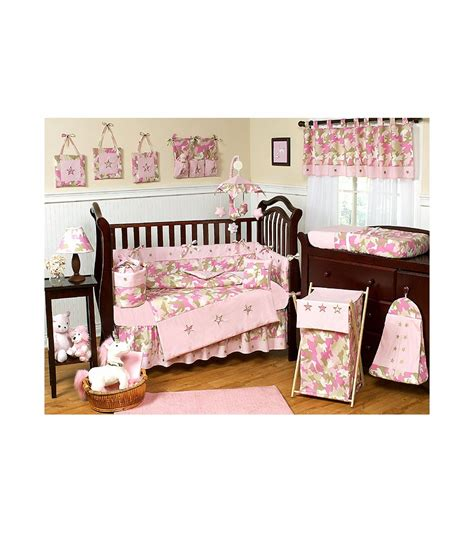 sweet jojo designs crib bedding sweet jojo designs camo pink 9 piece crib bedding set