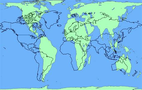 World Flat Map by The World Map Fraud Flat Earth Disclosure