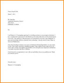Admissions Specialist Cover Letter by College Admission Cover Letter Sle Jianbochen