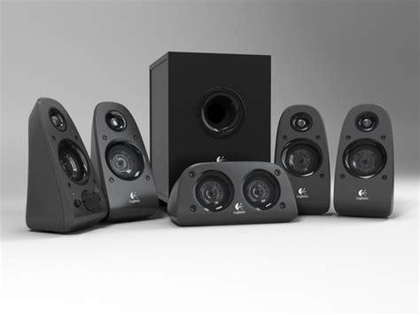 model logitech surround speakers