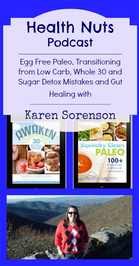 Whole 30 Sugar Detox by Health Nuts Podcast 26 Egg Free Paleo Transitioning From
