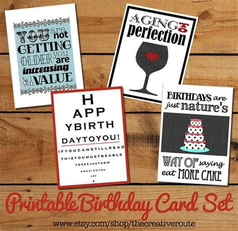 printable birthday cards money printable birthday cards set of funny birthday quotes