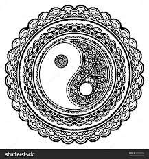 trippy yin yang coloring pages a yin yang coloring page in other news i just saw the