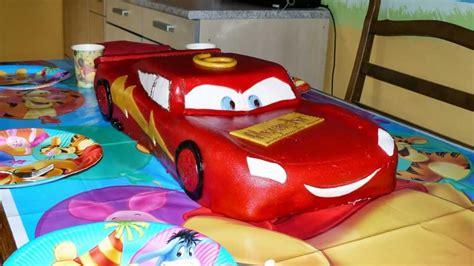 cars kuchen cars torte lightning mcqueen
