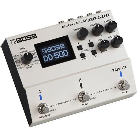Dd 5dd5 Digital Delay Effect Pedal dd 500 digital delay pedal dd 500 b h photo