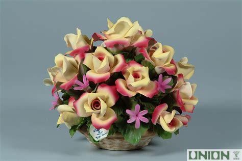 fiori capodimonte ceramics union porcellane di capodimonte articoli in