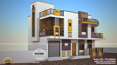 4 Bedroom Bungalow Floor Plan by India Contemporary House Plan Kerala Home Design And