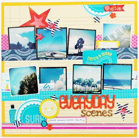 instagram scrapbook layout american crafts studio blog instagram week