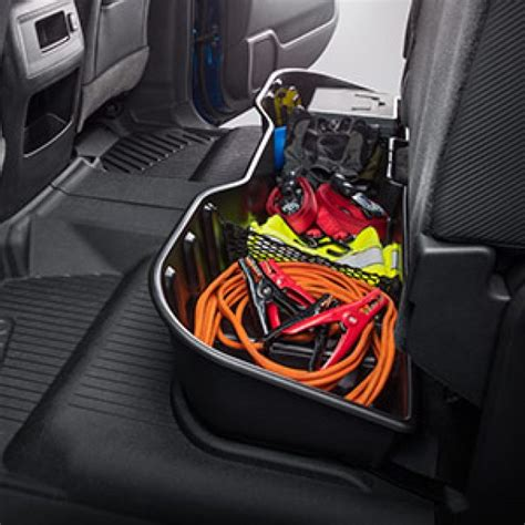 2014 gmc cab seat storage 2014 1500 underseat storage organizer