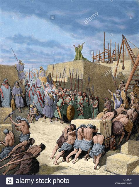 testament return from the babylonian exile reconstruction of stock photo royalty free