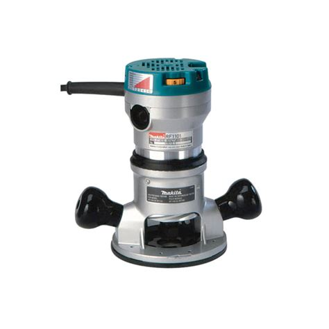 Router Makita Makita Rf1101 Router 1 2 Quot 2 1 4 H P Variable Speed