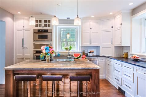 12 Foot Kitchen Island remodelaholic white country kitchen remodel with marble