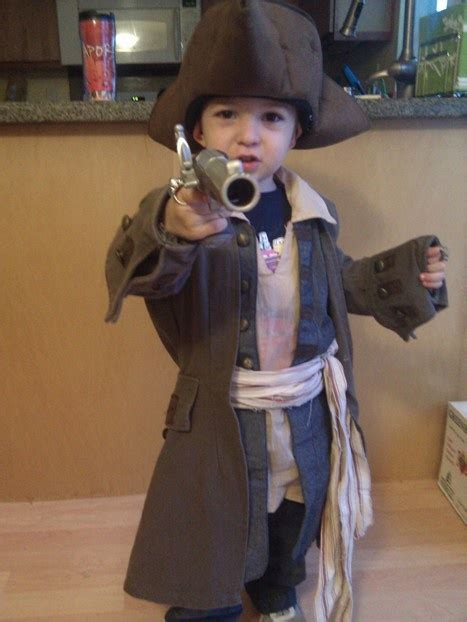 That Sparrow Kid by Child S Sparrow Costume Build Potc