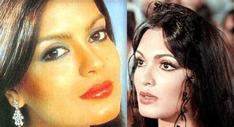 parveen babi zeenat aman 35 indian celebrities with unimaginable look alikes