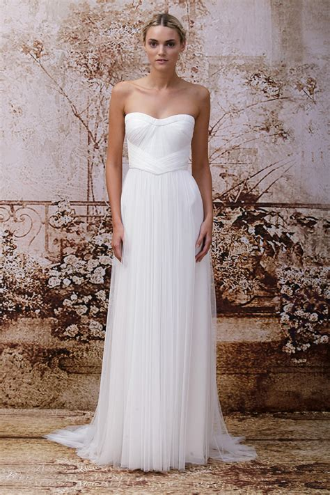 monique lhuillier bridal 2014 wedding dress by monique lhuillier fall 2014 bridal look