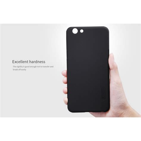 Hello Black Hardcase For Oppo F1s nillkin frosted shield for oppo f1s a59 black jakartanotebook
