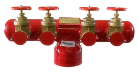 fire department valve fdc fire dept connection gate valves 4 ports