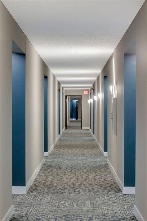 Apartment Building Hallway Lighting Interior Design