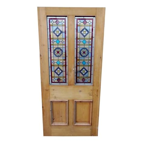 Buy Glass Doors Original 4 Panel Stained Glass Door Buy From Phs