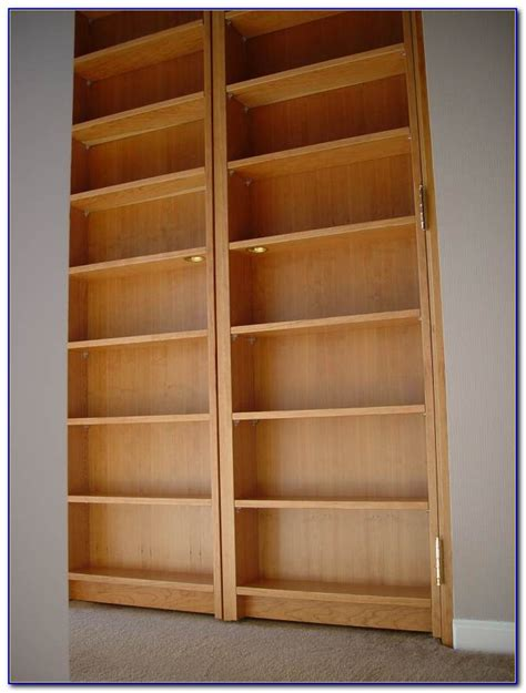 Closet Door Bookcase Bookshelf Closet Door Bookcase 64994 X2by2drymz