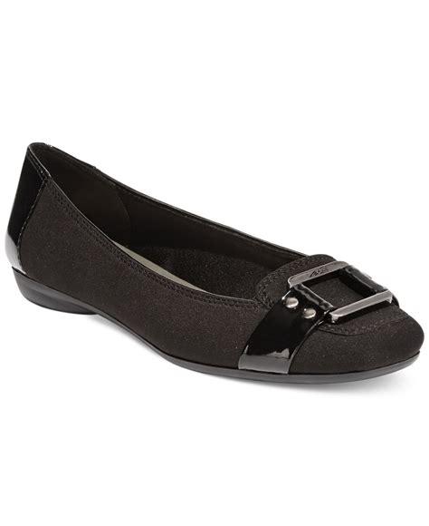 ak sport shoes klein ak sport underpin flats in black lyst