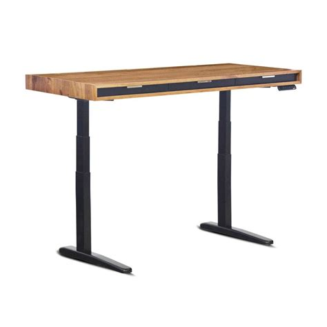 the evolve quot slim quot sit stand desk featuring the jarvis
