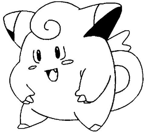 pokemon coloring pages nidoking pokemon coloring page 035 clefairy coloring pages