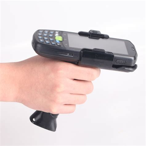 barcode scanner android android barcode scanner with gun grip rugged handheld ip67 device with 1d barcode reader