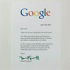 Business Letters Google Lille Pige Sender H 229 Ndskrevet Brev Til Google Se Her