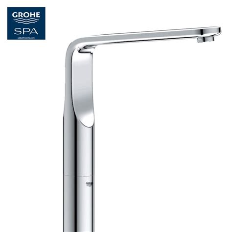 grohe bathtubs grohe veris floor mounted bath spout uk bathrooms