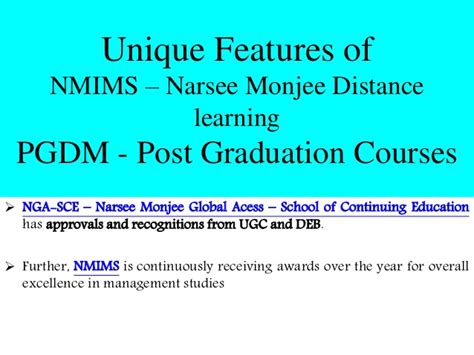 Narsee Monjee Distance Learning Mba by Career Opportunities After Post Graduation Diploma In