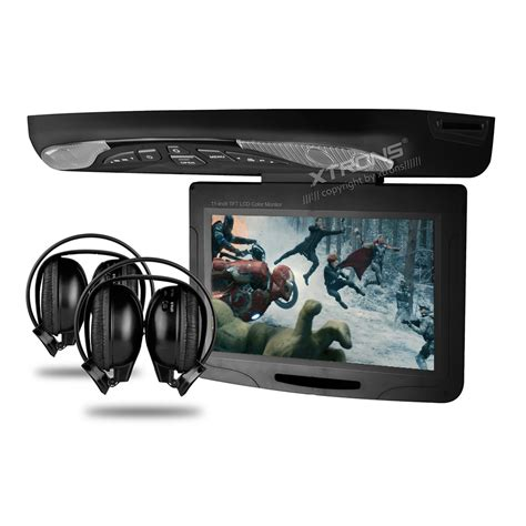 ceiling mounted dvd players for cars 11 3 quot car roof mounted dvd player drop monitor with