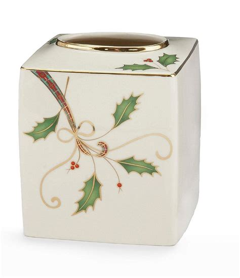 lenox bathroom collection lenox holiday nouveau bath collection tissue box cover 6420186 christmas