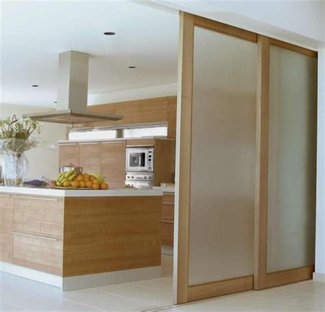 sliding kitchen doors interior best 25 sliding door room dividers ideas on