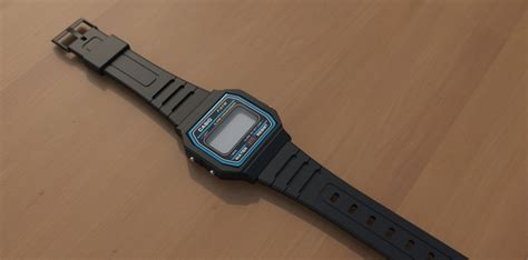 Casio F 91w 3d casio f 91w pro engineer wildfire stl solidworks