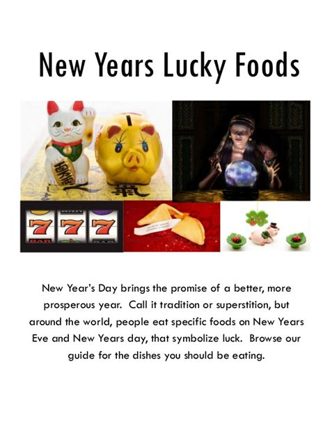 food for new year s day is luck new years lucky foods