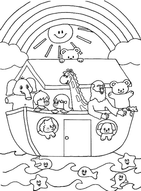 Noahs Ark Coloring Pages Free Coloring Pages Of Noah S Ark Rainbow by Noahs Ark Coloring Pages