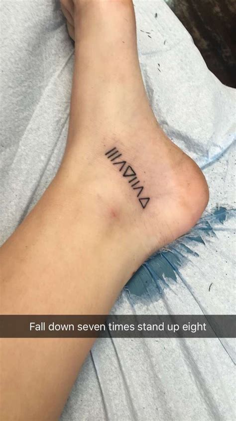 big kahuna tattoo quot fall seven time stand up eight quot and belly