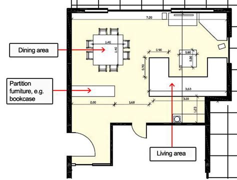put furniture in floor plan how to arrange furniture in the living dining room